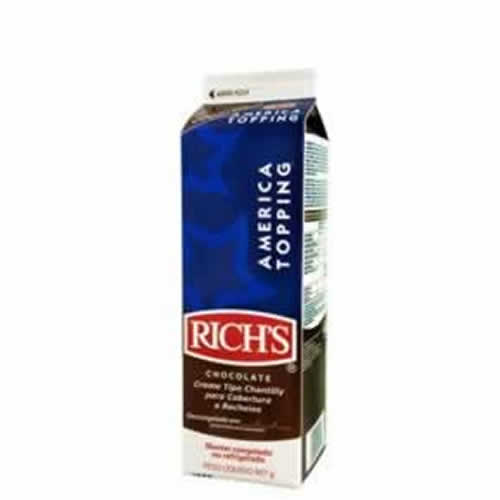 AMERICA TOPPING RICHS CHOCOLATE 907G - CACAU CENTER