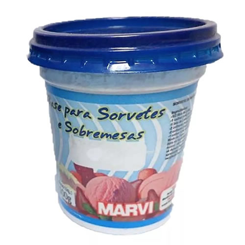 BASE PARA SORVETES MARVI SABORES 100G - CACAU CENTER