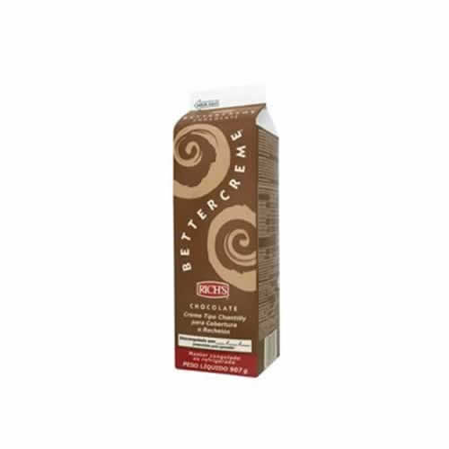 BETTERCREME RICHS CHOCOLATE 907G - CACAU CENTER