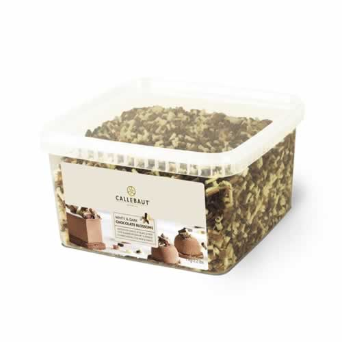 BLOSSOMS CALLEBAUT AMARGO E BRANCO 1KG - CACAU CENTER