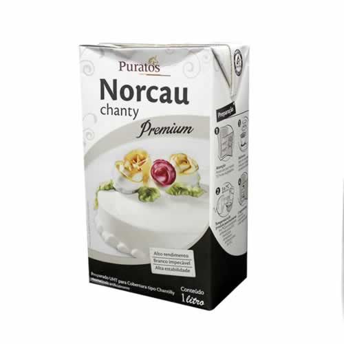 CHANTY NORCAU PREMIUM PURATOS 1L - CACAU CENTER