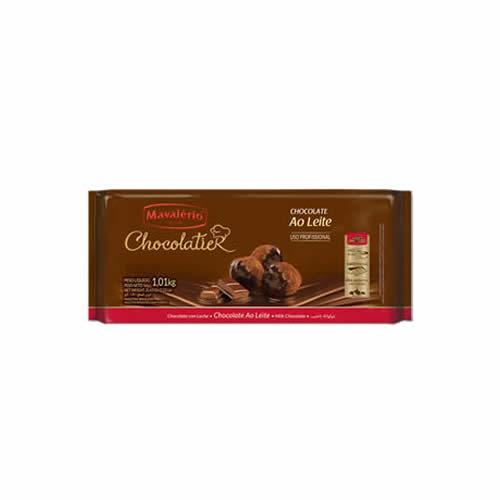 CHOC CHOCOLATIER MAVALERIO AO LEITE 1,01KG - CACAU CENTER