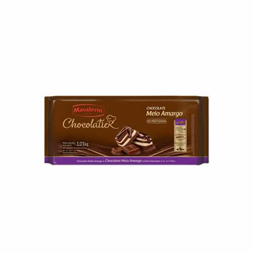 CHOC CHOCOLATIER MAVALERIO MEIO AMARGO 1,01KG - CACAU CENTER