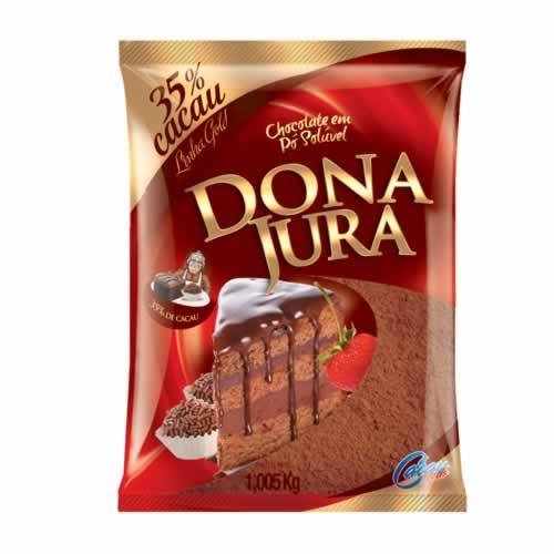CHOC EM PÓ 35% DONA JURA - CACAU CENTER