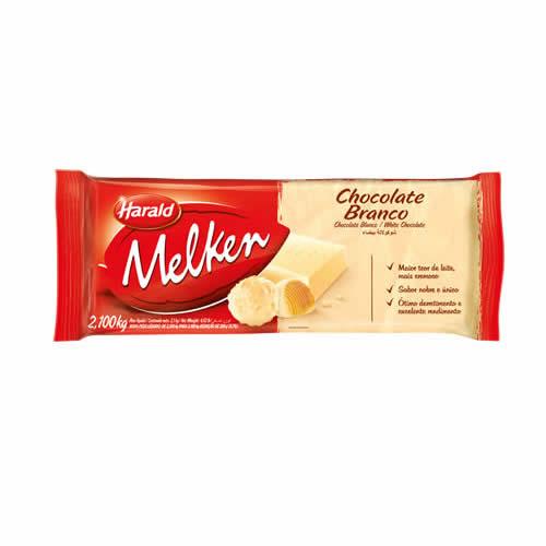CHOC MELKEN BRANCA 2,1KG - CACAU CENTER