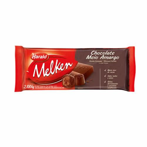 CHOC MELKEN MEIO AMARGO 2,1KG - CACAU CENTER