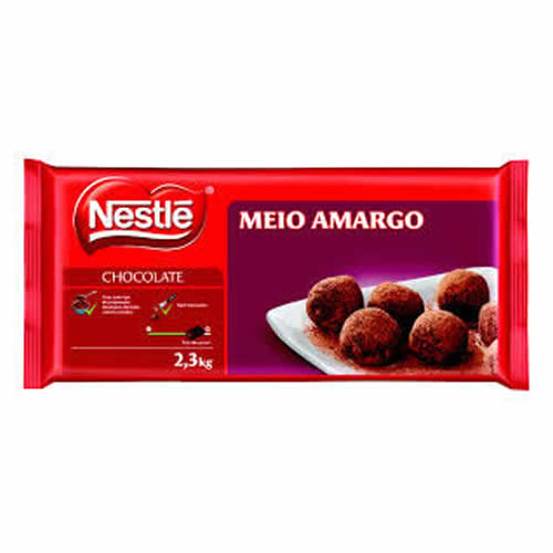 CHOC NESTLE MEIO AMARGO 2,3KG - CACAU CENTER