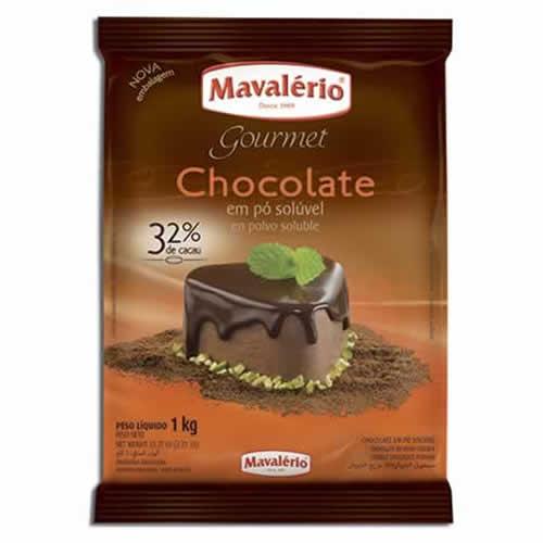 CHOCOLATE EM PÓ 32% MAVALERIO 1KG - CACAU CENTER