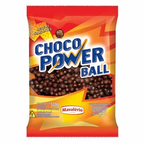 CHOCOPOWER BALL AO LEITE MAVALERIO 500G - CACAU CENTER