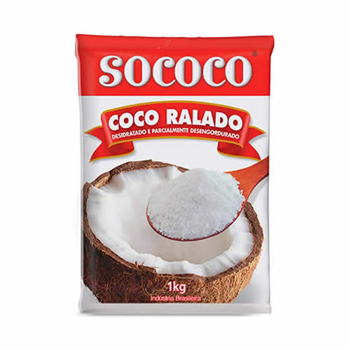 COCO RALADO SOCOCO - CACAU CENTER