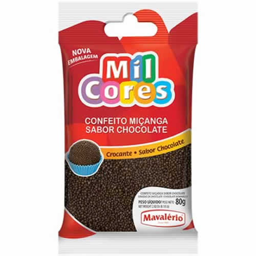CONFEITO MICANGA CHOCOLATE MAVALERIO 500G - CACAU CENTER
