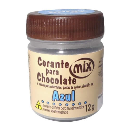 CORANTE PARA CHOCOLATE MIX 12G - CACAU CENTER
