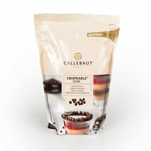 CRISPEARLS CALLEBAUT DARK 800G - CACAU CENTER