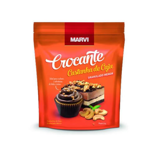 CROCANTE CASTANHA DE CAJU MARVI 400G - CACAU CENTER