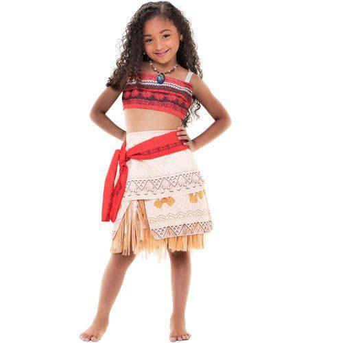 FANTASIA INFANTIL MOANA - CACAU CENTER