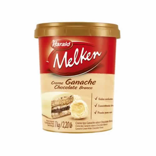 GANACHE BRANCO MELKEN 1KG - CACAU CENTER