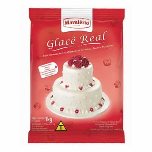 GLACE REAL MAVALERIO 1KG - CACAU CENTER