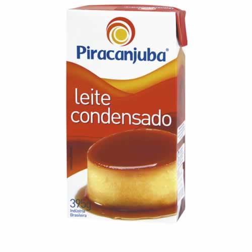LEITE CONDENSADO PIRACANJUBA 395G - CACAU CENTER