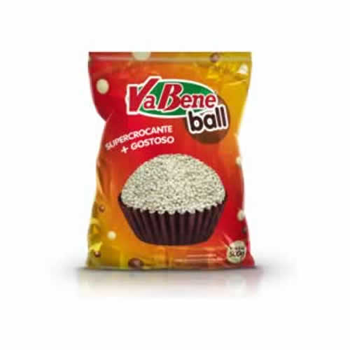 MICROBALL BRANCO VABENE 500G - CACAU CENTER