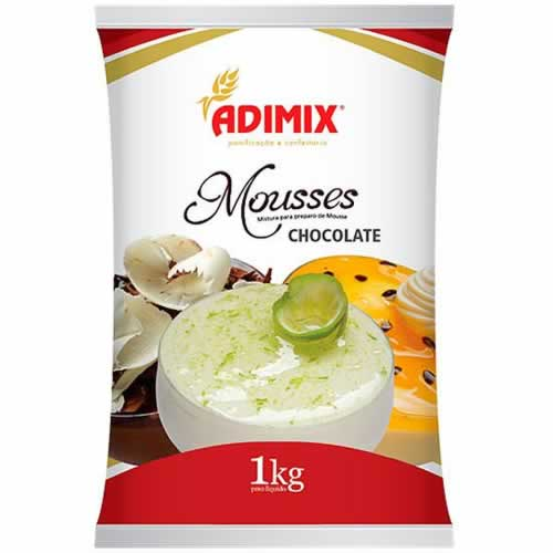 MOUSSE CHOCOLATE ADIMIX 1KG - CACAU CENTER