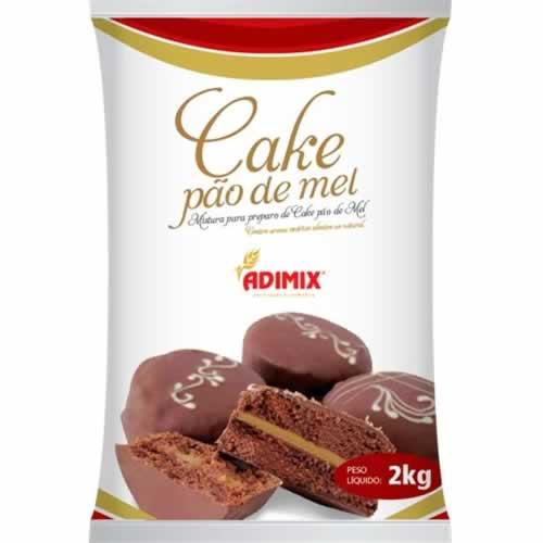 PO PRAPARO CAKE PAO DE MEL ADIMIX 2KG - CACAU CENTER