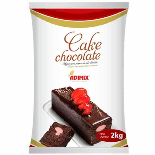 PO PREPARO CAKE CHOCOLATE ADIMIX 2KG - CACAU CENTER