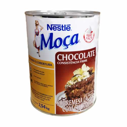RECHEIO CHOCOLATE NESTLE 2,54KG - CACAU CENTER