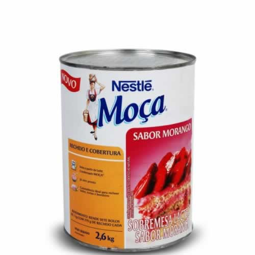 RECHEIO MORANGO NESTLE 2,6KG - CACAU CENTER
