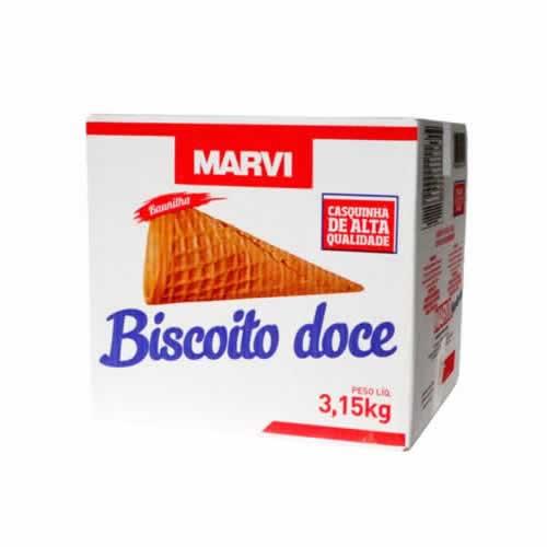 BISCOITO DOCE MARVI COM 300 UNID 39,90 - CACAU CENTER