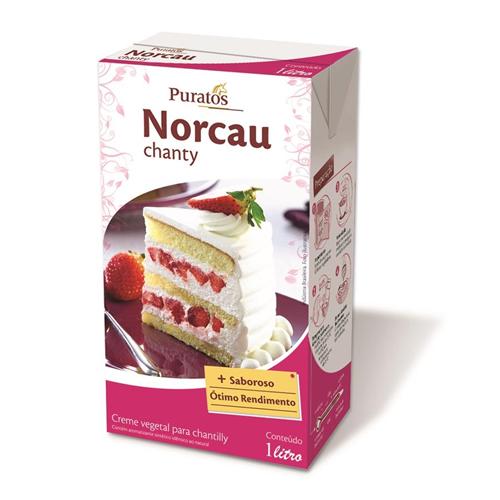 CHANTY NORCAU PURATOS 1L 7,99 - CACAU CENTER