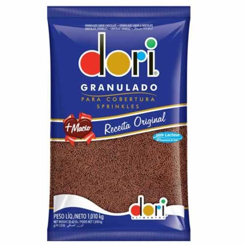 GRANULADO MACIO DORI 1,01KG 7,99 - CACAU CENTER