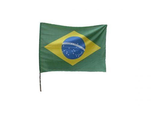 BANDEIRA BRASIL COM CABO 193CM X 140CM