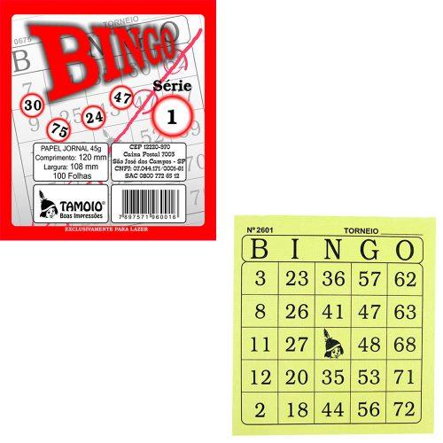 BLOCO DE BINGO