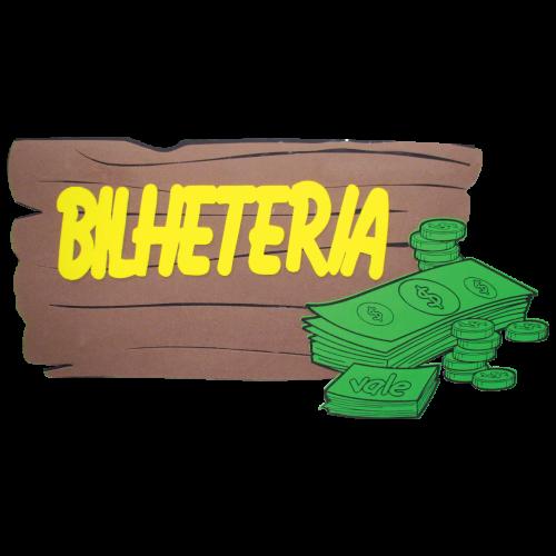 PLACA DE EVA BILHETERIA
