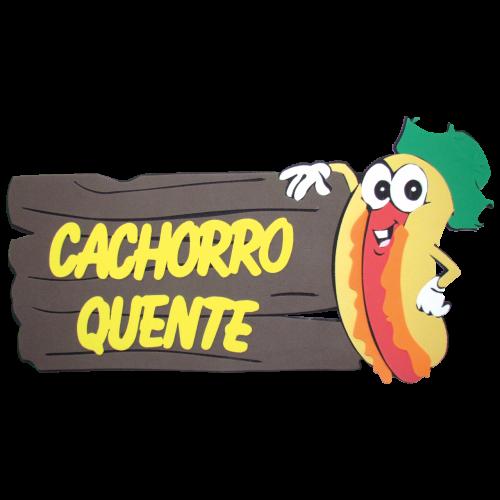 PLACA DE EVA CACHORRO QUENTE