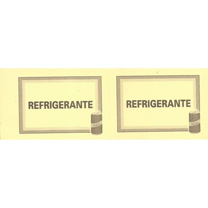 TICKET REFRIGERANTE