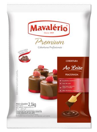 GOTAS PREMIUM MAVALERIO AO LEITE 2,1KG 27,99