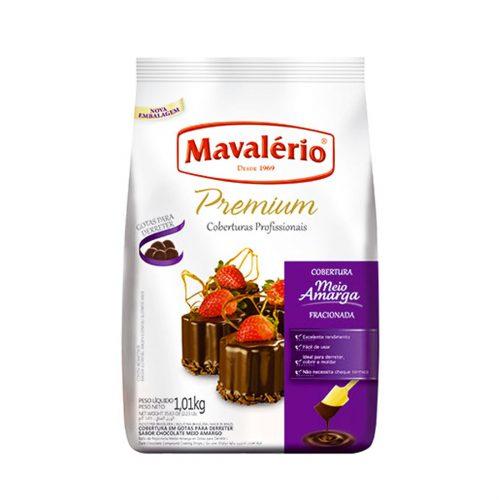 GOTAS PREMIUM MEIO AMARGO MAVALERIO 1,01KG 15,99