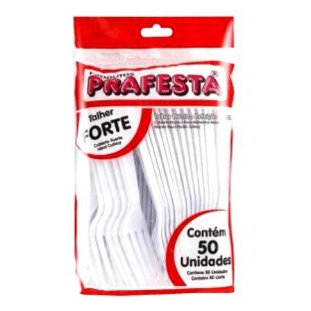 GARFO MASTER PRAFESTA 50 UNID R$ 6,99